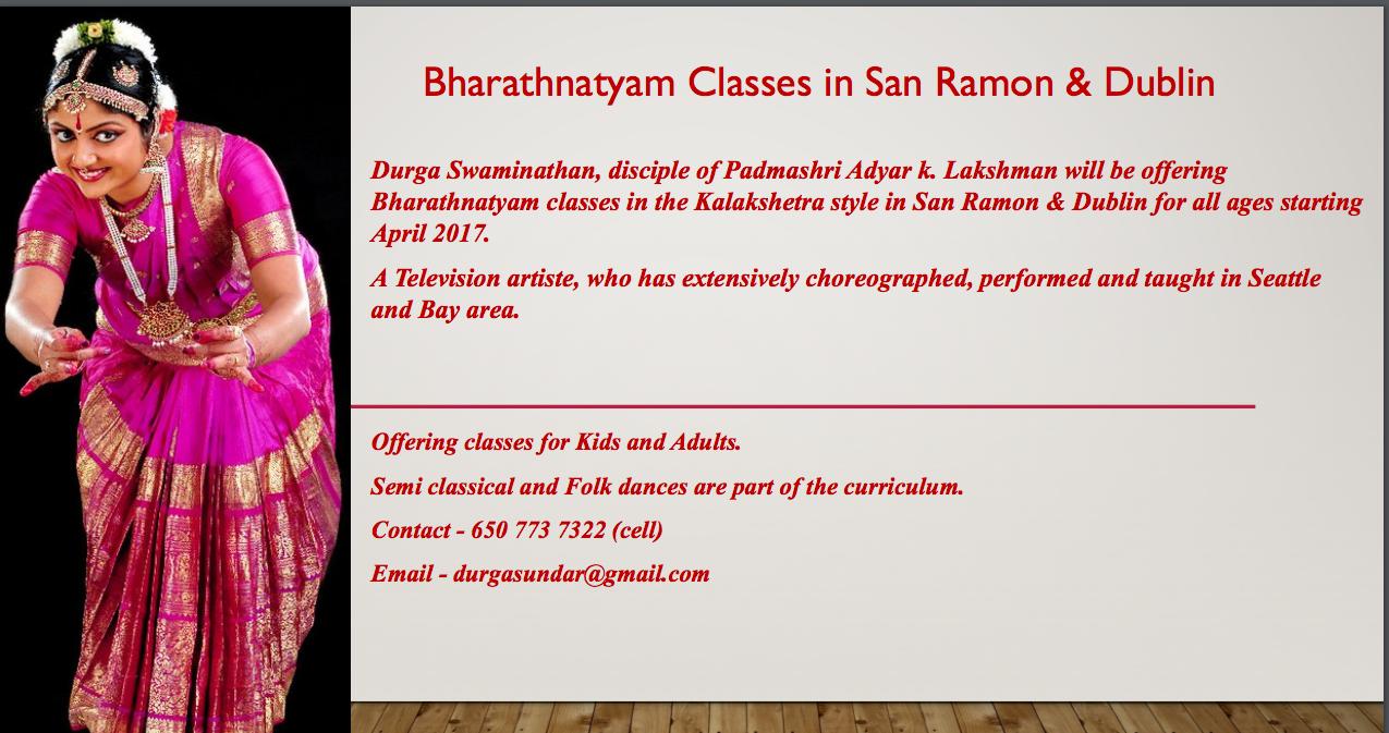 dance-class flyer